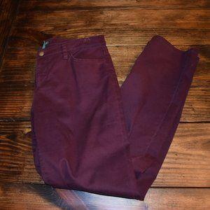 Lauren Ralph Lauren Burgundy Pants